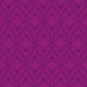Sömlös abstrakt lila orient mönster — Stockvektor