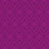 无缝抽象紫色东方模式 — 图库矢量图片