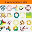 pack logo — Vecteur #7098190
