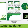 Corporate design pack — Stock Vector #7098227