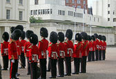 Grenadier Guard Inspection — Stock Photo