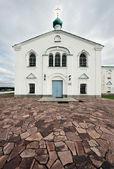 Monasterio aleksandro-svirskiy. catedral spaso-preobrazhenskiy — Foto de Stock