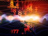Abstract Wave Analyzer — Stock Photo