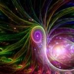 Virtual Whirlpools — Stock Photo