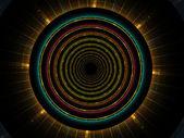 Cercle de fractal — Photo
