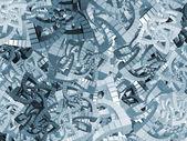 Fraktale cube muster — Stockfoto