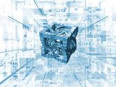 Hypercube — Stock Photo