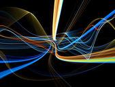 Farbe in bewegung — Stockfoto