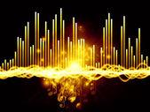 Lights of Music — Stock Photo