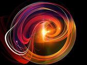 Dynamique de forme circulaire — Photo
