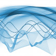 Sine Wave Progress - Stock Photo
