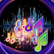 Colors of Music - Stock Photo