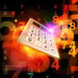 Calculator Perspective - Stock Photo