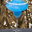 Blue margarita Cocktail — Stock Photo