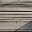 Royalty-Free Stock Photo: Board walk shadows