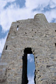 Ballybunions grey castle ruins — Stock Photo