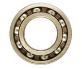 Single ball bearing — Stock Photo