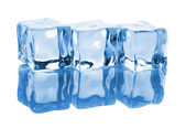Three ice cubes — Stock Photo