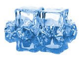 Blocks of ice with reflection — Stock Photo