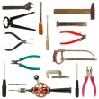 Old used tools collection 2 — Foto de Stock