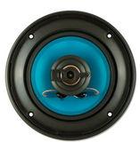 Blue loudspeaker — Stock Photo