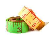 Two measuring tapes — Stock Photo