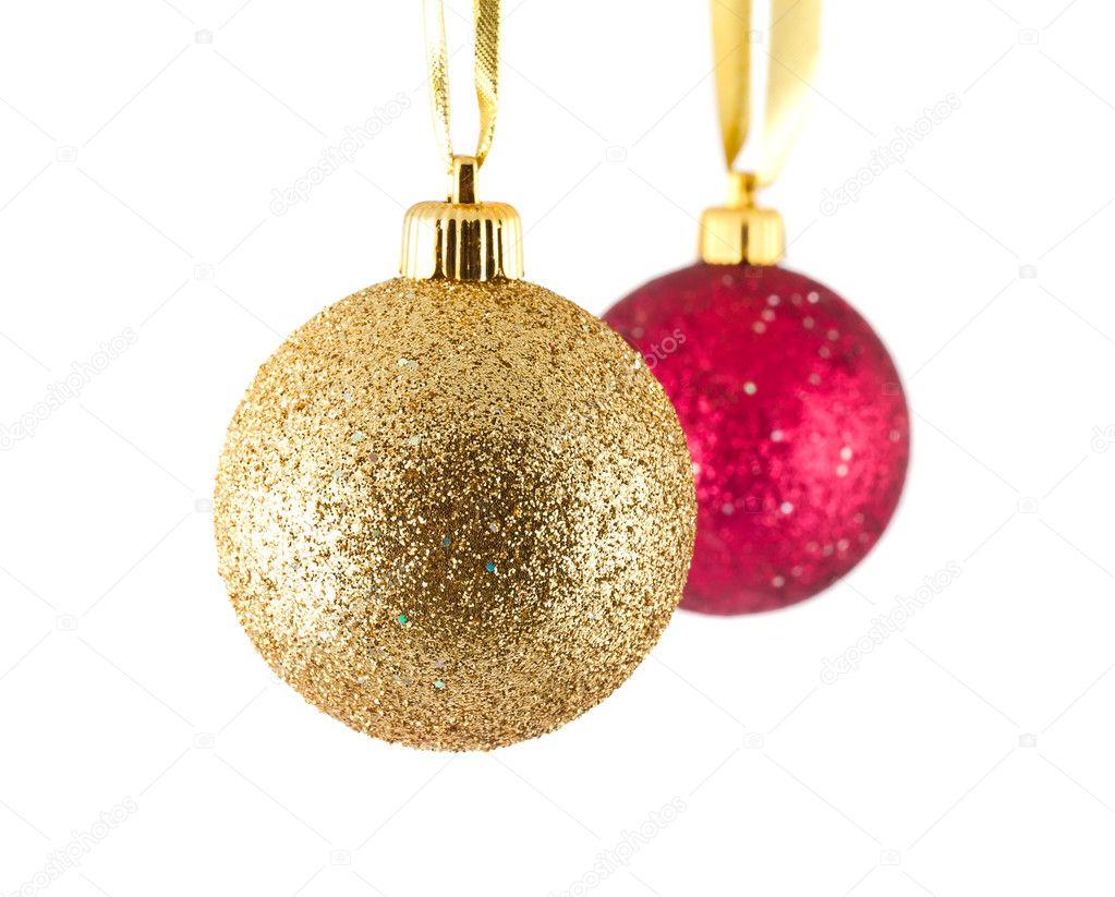 Bolas de navidad rojas bolas de navidad en patchwork - Bolas de navidad doradas ...