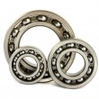 Stock Photo: Three steel ball bearings