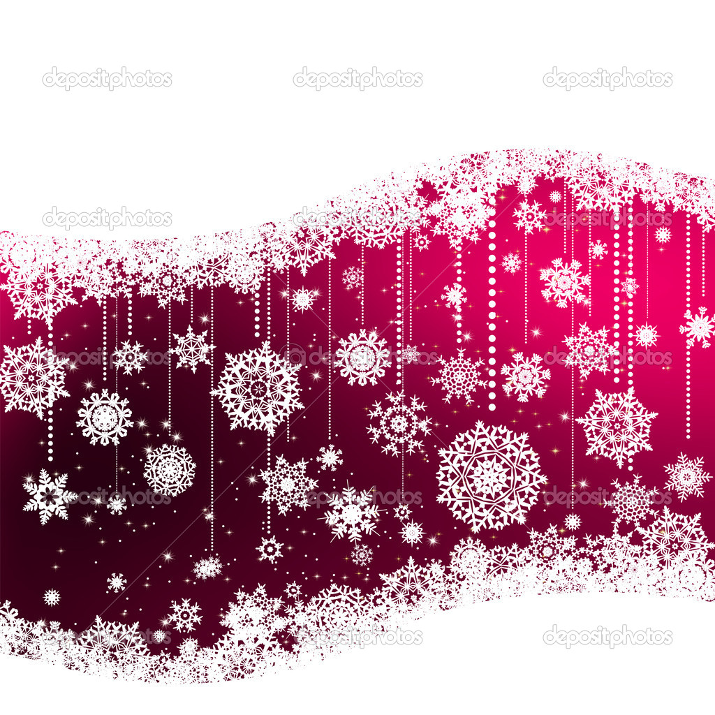 Elegant christmas background. EPS 8 vector file included — Stock Vector #6852661