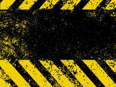 Hazard stripes in Grunge style. EPS 8 — Stock Vector
