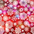 Stock Vector: Glittery coloeful Christmas background. EPS 8