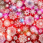 Glittery coloeful Christmas background. EPS 8 — Stock Vector