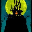 Halloween poster background. EPS 8 — Stockvektor