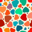Hearts seamless Background. EPS 8 — Stock Vector #7256562