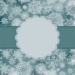 Royalty-Free Stock Imagen vectorial: Cute color christmas card. EPS 8