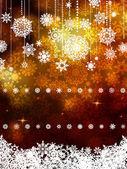 Gold shiny Christmas background. EPS 8 — Stock Vector