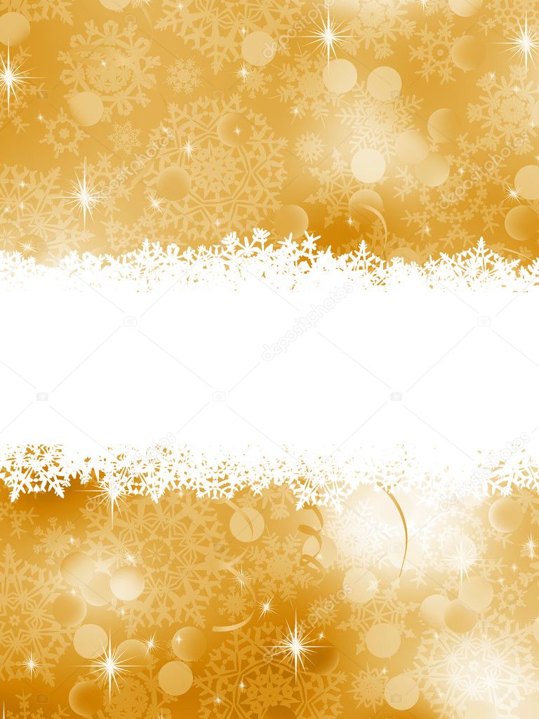 Elegant Christmas Background. EPS 8 vector file included — Stock Vector #7507320