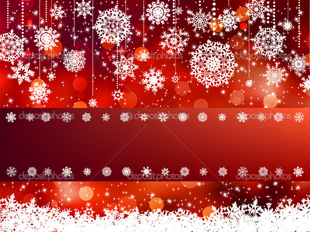 Elegant christmas background. EPS 8 vector file included — Stock Vector #7524941