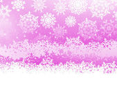 Winter background with snowflakes. EPS 8 — Vector de stock