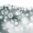 Christmas background with snowflakes. EPS 8 — Imagens vectoriais em stock