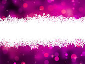 Purple background with snowflakes. EPS 8 — Stock Vector