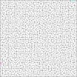 Vector illustration of perfect maze. EPS 8 — Imagens vectoriais em stock