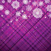 Purple christmas background, vector illustration. EPS 8 vector file included — Stock Vector