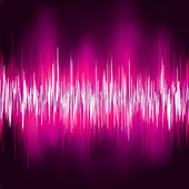 Abstract purple waveform. EPS 8 — Stock Vector