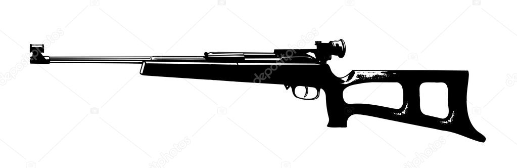 Gun. Vector illustration. EPS include — Stock Vector #7865932