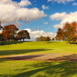 Beautiful Autumn park in Stirling, Scotland — Stock Photo