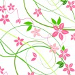 Royalty-Free Stock Photo: Delicate background with pink lowers