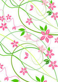 Delicate background with pink lowers — Stock Photo