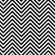 Foto de Stock  : Trendy chevron patterned background black and white
