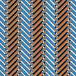 Royalty-Free Stock Photo: Trendy chevron patterned background